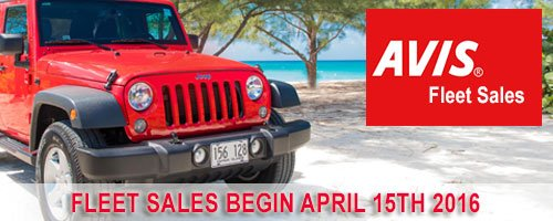 Avis Car Rentals Grand Cayman